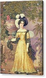 Lady Rowe Acrylic Print