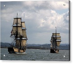 Lady Washington And The Hawaiian Chieftain Acrylic Print