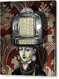 Lady Wurlitzer Acrylic Print by Larry Butterworth