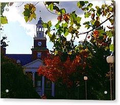 Lafayette College - Easton Pa Acrylic Print by Jacqueline M Lewis