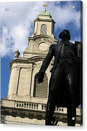 Lafayette College Easton Pa Acrylic Print by Jacqueline M Lewis