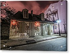 Lafitte's Blacksmith Shop Acrylic Print by Andy Crawford