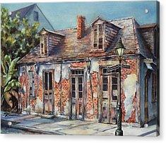 Lafitte's Blacksmith Shop Acrylic Print by Sue Zimmermann
