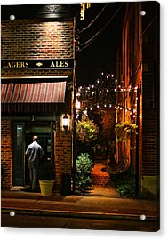 Lagers And Ales Acrylic Print by Laura Fasulo