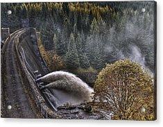 Laggan Dam Acrylic Print