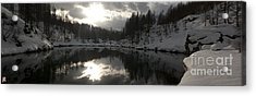 Lago Delle Streghe Acrylic Print by Marco Affini