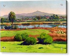 Lago Lindo Rancho Santa Fe Acrylic Print