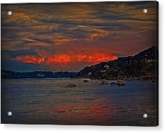 Acrylic Print featuring the photograph Lago Maggiore by Hanny Heim