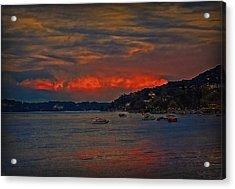 Lago Maggiore Acrylic Print by Hanny Heim