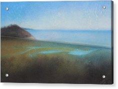Lagoon II Or Overlooking Torrey Pines Acrylic Print
