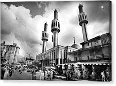 Lagos Central Mosque Acrylic Print