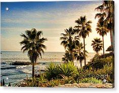 Laguna Beach Acrylic Print by Mariola Bitner