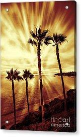 Laguna Beach Sunset Acrylic Print