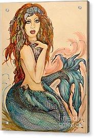 Laguna Blue Acrylic Print by Valarie Pacheco