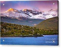 Laguna Capri Sunrise Acrylic Print by Inge Johnsson
