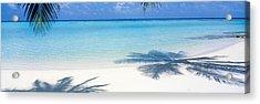 Laguna Maldives Acrylic Print by Panoramic Images