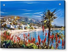 Laguna Sparkle Acrylic Print by Russell Pierce