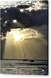 Lahaina Sunset 2 Acrylic Print by Dawn Eshelman