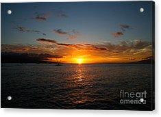 Lahaina Sunset Acrylic Print