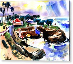 Lajolla Cove Acrylic Print by John Dunn