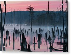 Lake @ Morning #2 Acrylic Print by ??? / Austin