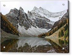 Acrylic Print featuring the photograph Lake Agnes by Ramona Johnston