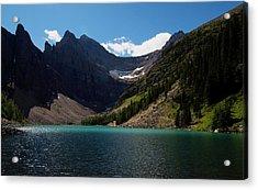 Lake Agnes Acrylic Print