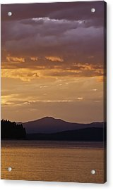 Lake Almanor Sunset Acrylic Print