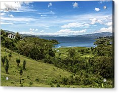 Lake Arenal View In Costa Rica Acrylic Print