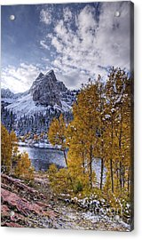 Lake Blanch Acrylic Print by Earl Nelson