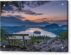 Lake Bled Acrylic Print