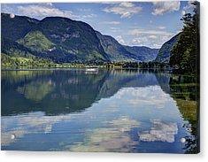 Lake Bohinj Acrylic Print by Uri Baruch