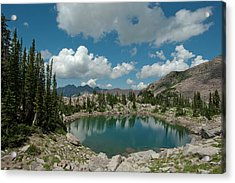 Lake Catherine, On The Brighton Lakes Acrylic Print by Howie Garber