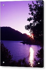 Lake Chabot On A Summer Eve Acrylic Print