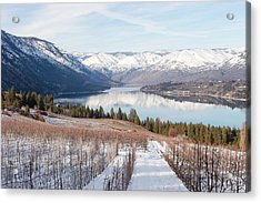 Lake Chelan In Winter Acrylic Print