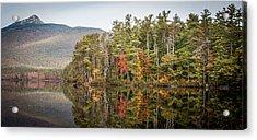 Lake Chocorua Reflection Acrylic Print by Karen Stephenson