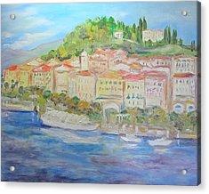 Lake Como Italy Village Acrylic Print