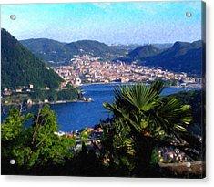Lake Como Itl7724 Acrylic Print