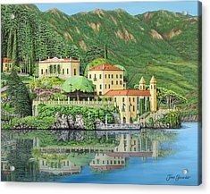 Lake Como Morning Acrylic Print