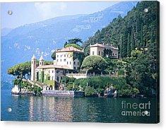 Lake Como Palace Acrylic Print