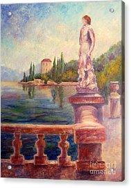 Lake Como View Acrylic Print