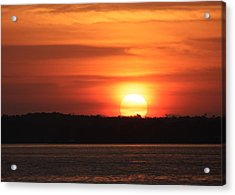 Lake Conroe Sunset Acrylic Print