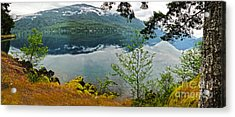 Lake Crescent - Washington - 02 Acrylic Print by Gregory Dyer
