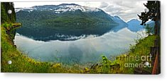 Lake Crescent - Washington - 03 Acrylic Print by Gregory Dyer