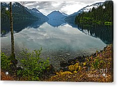 Lake Crescent - Washington - 04 Acrylic Print by Gregory Dyer