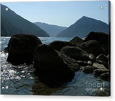 Acrylic Print featuring the photograph Lake Crescent by Jane Ford