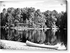 Lake Day Acrylic Print by John Rizzuto