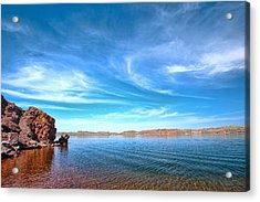 Lake Desmet Acrylic Print by Jana Thompson