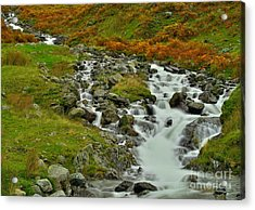 Lake District Waterfall Acrylic Print