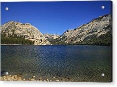 Lake Ellery Yosemite Acrylic Print by David Millenheft